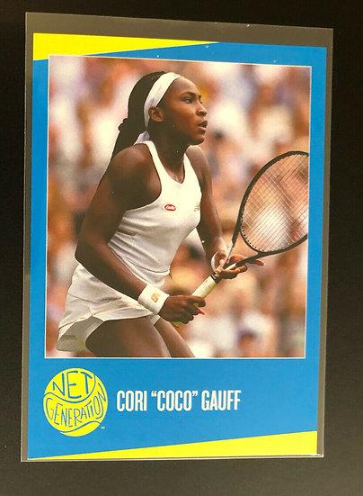 "2019 Net Generation USTA Cori ""Coco"" Gauff RC Tennis Rookie Card"