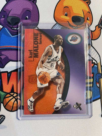 2000-01 E-X Essential Credentials Karl Malone #790 SP #d/201 Utah Jazz HOF