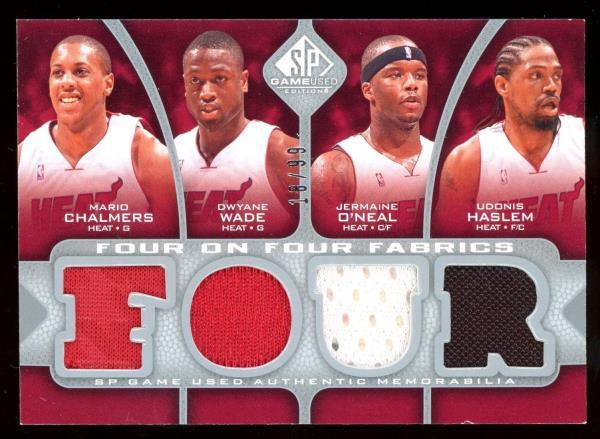 2009-10 SP Game Used 8 JERSEY /99 Dwyane Wade Haslem O'neal Kirilenko Utah Jazz