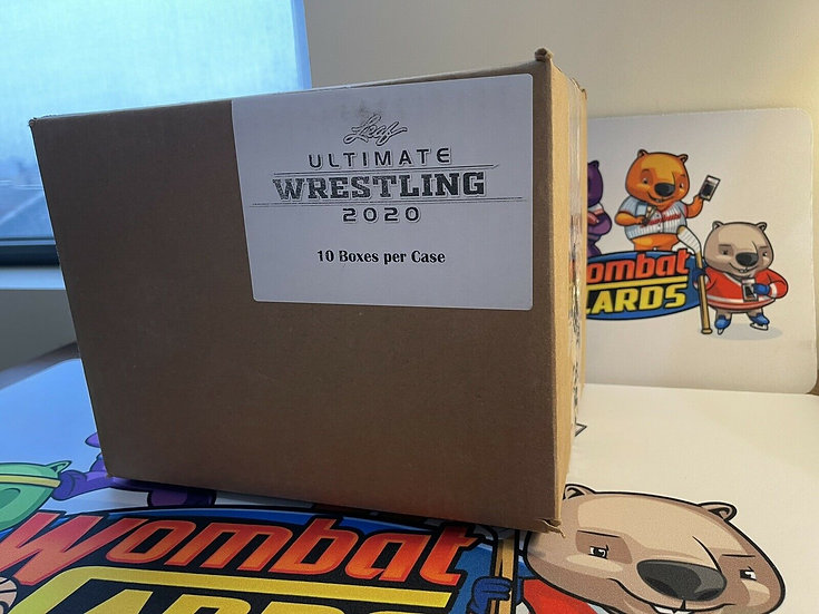 2020 Leaf Ultimate Wrestling Factory Sealed 10 Box Hobby Case *WWE AEW New Japan