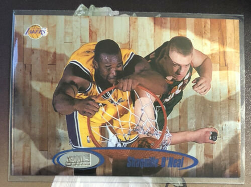 1998-99 SHAQUILLE SHAQ O'NEAL TOPPS STADIUM CLUB ONE OF A KIND SP #d/150 Lakers