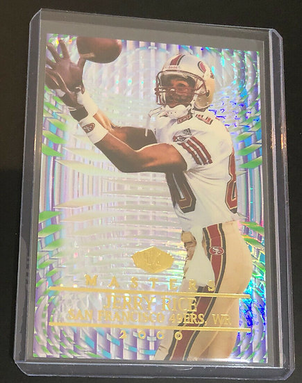 2000 Collector's Edge Masters SP #d/2000 Jerry Rice #167 HOF 49ers RARE!!!