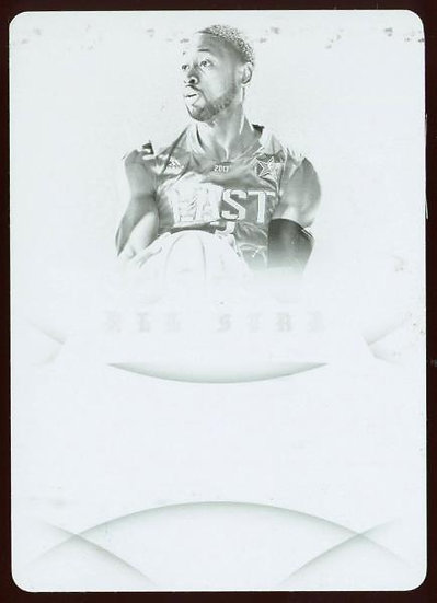 2012-13 Panini Immaculate ~ ALL-STAR LINEAGE BLACK PLATE 1/1 ~ Dwyane Wade