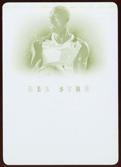 2012-13 Panini Immaculate ~ ALL-STAR LINEAGE YELLOW PLATE 1/1 ~ Dwyane Wade