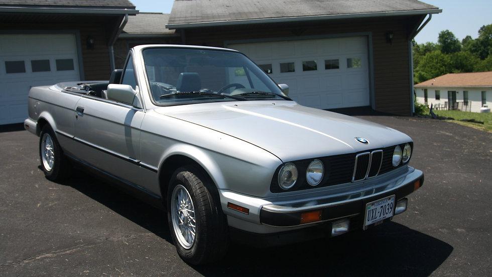BMW E30 1991 325i Convertible