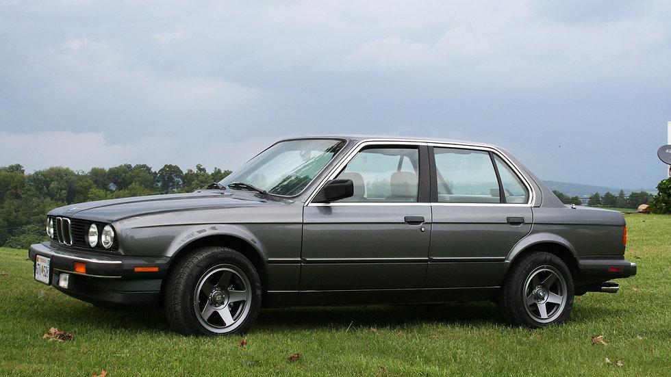 BMW 1987 325 4 Door Sedan