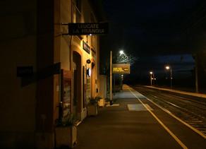 Het treinstationnetje van La Franqui (Leucate)