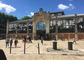Les halles a Narbonne