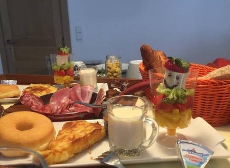 Ontbijten bij Tilley France B&B