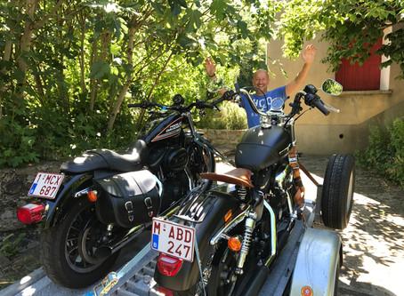 Moto vakantie bij Tilley France