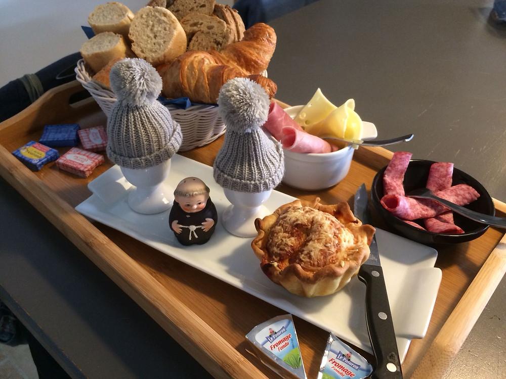 Tilley France ontbijten