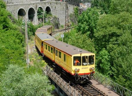 De gele trein van Cerdagne
