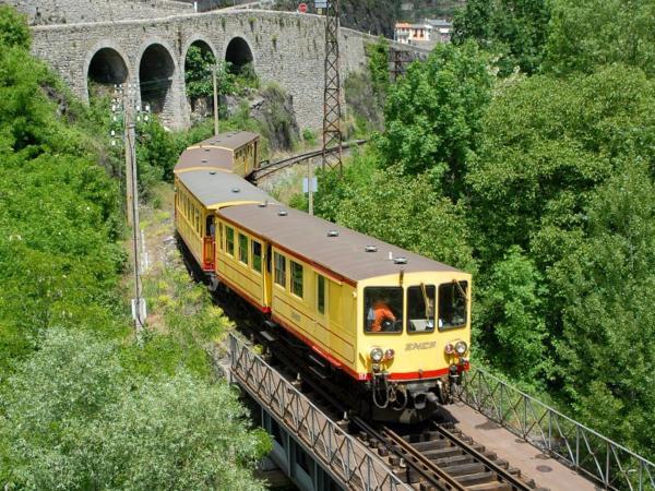 Het gele treintje