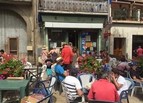 Bar Chez Denis à Fitou Village.