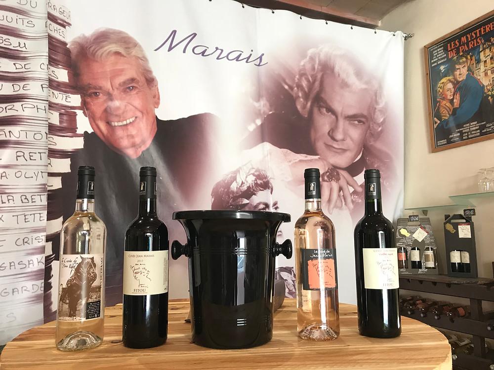Jean Marais au Vidal a Fitou