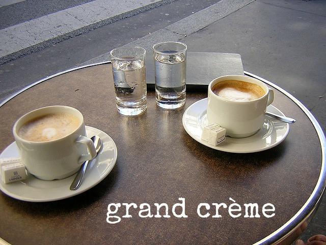 Un café créme