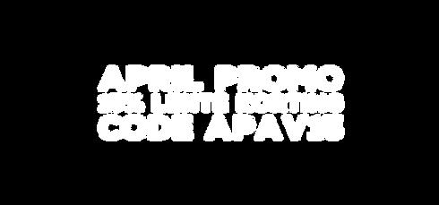 April promo 15% lente korting