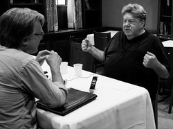 With George Wendt