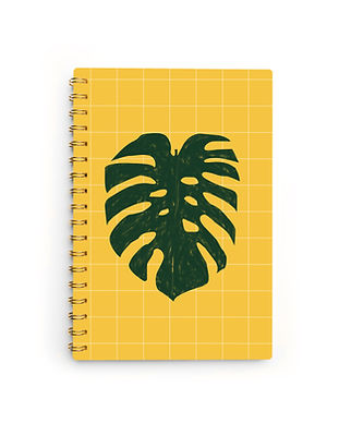 Monstera Notebook
