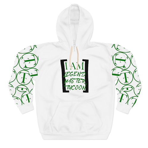 I Am LMT Men's Pullover Hoodie (Green)