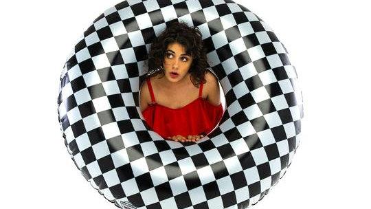 Checker pool float