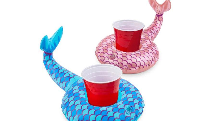 Mermaid Tails Beverage Boat 2 PK