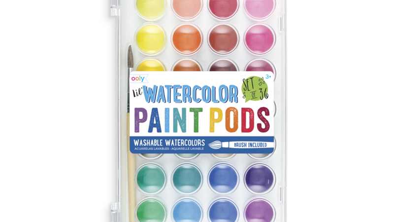 Lil' Watercolour Paint Pods