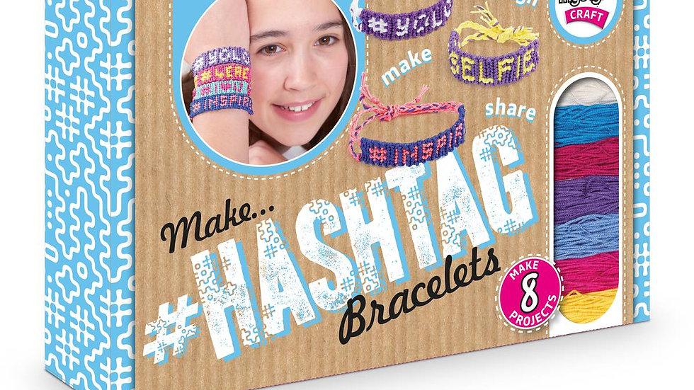 Hashtag Bracelets