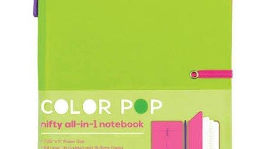 Color Pop Notebook Lime