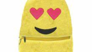 Heart Eyes Emoji Furry Backpack