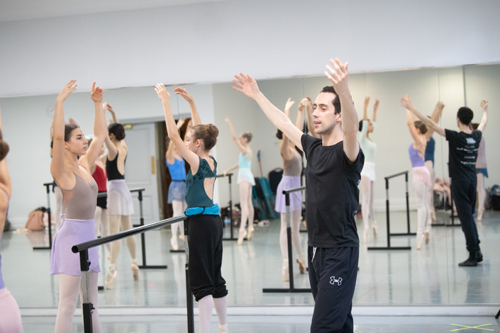 BALLERINA SERIES INTENSIVE WITH ERICO MONTES / BALLET ARTS PROJECT
