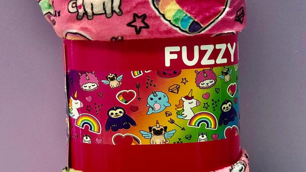 Top Trenz Unicorn Plush Blankets