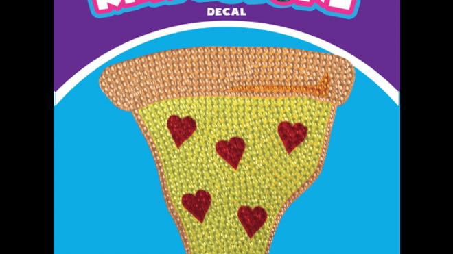 Pizza Slice Rhinestone Decals