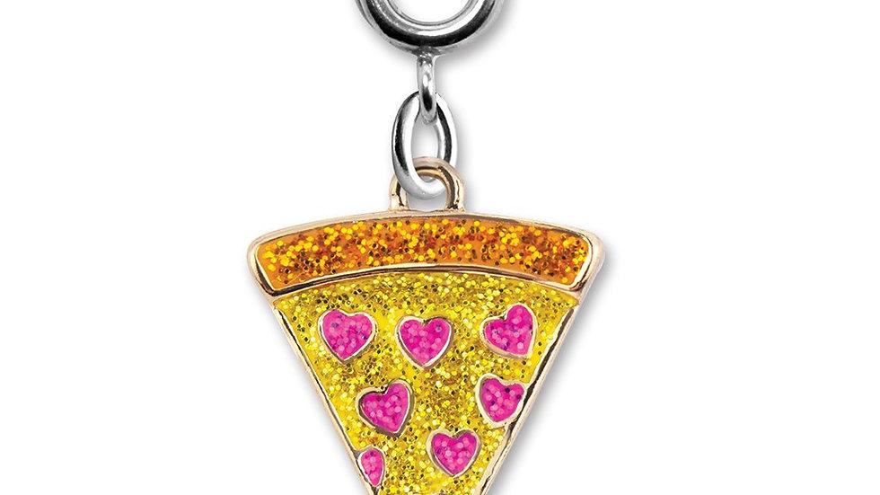 glitter Pizza Charm