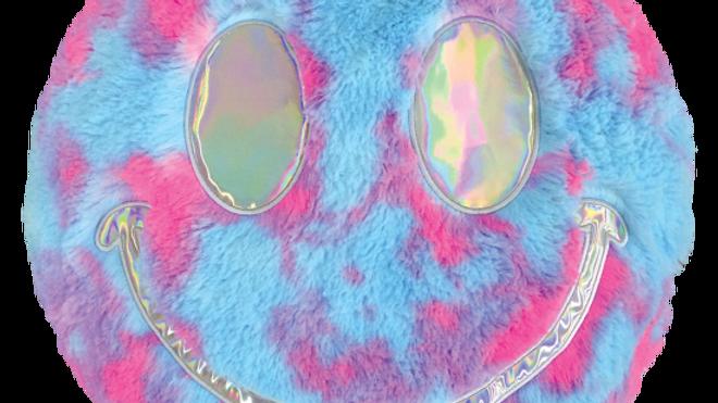 Good Vibes Pillow Furry