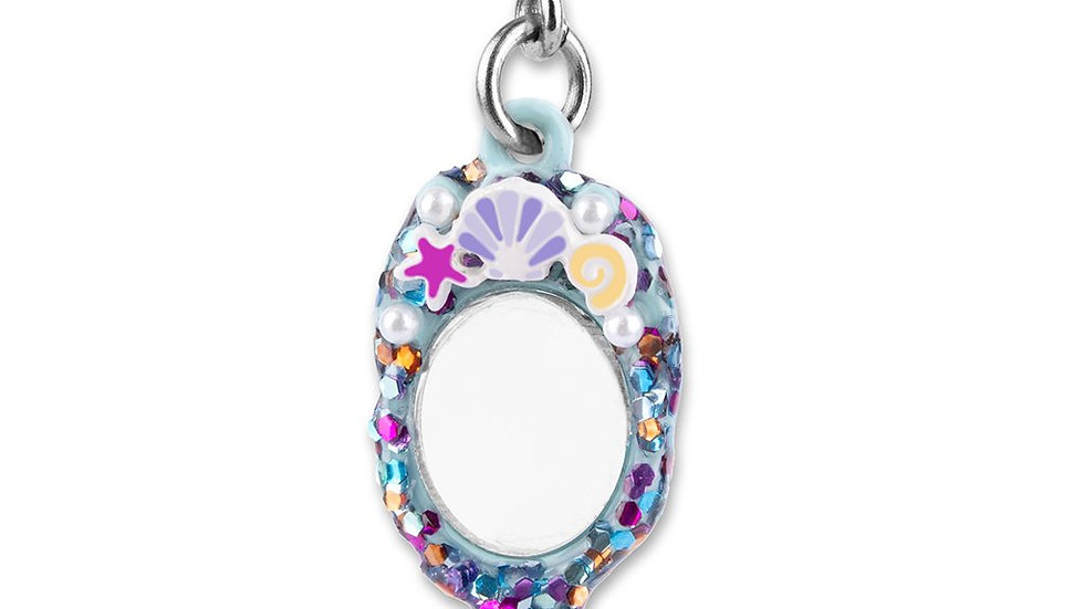 Mermaid Mirror Charm