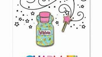 Wishes Bottle Enamel Pin