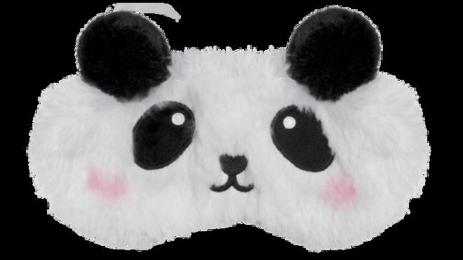 Panda Furry eye mask