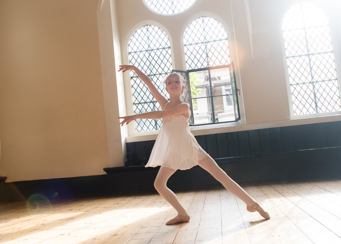 REHEARSAL FOR GENEE DANCE CHALLANGE/  BALLET SCHOOL LONDON