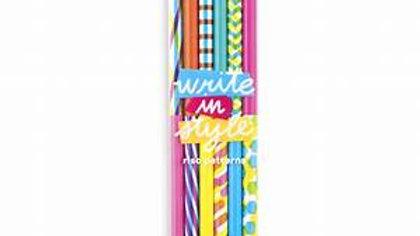 Write In Style Graphite Pencil -Riso Patterns