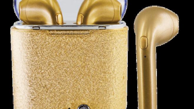 Gold Glitter Ear Buds