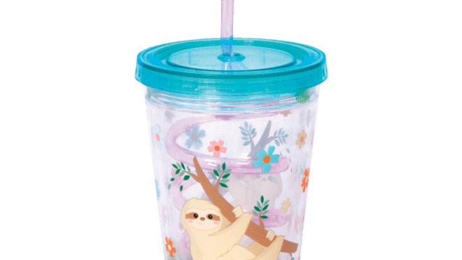 Sloth Straw Cup