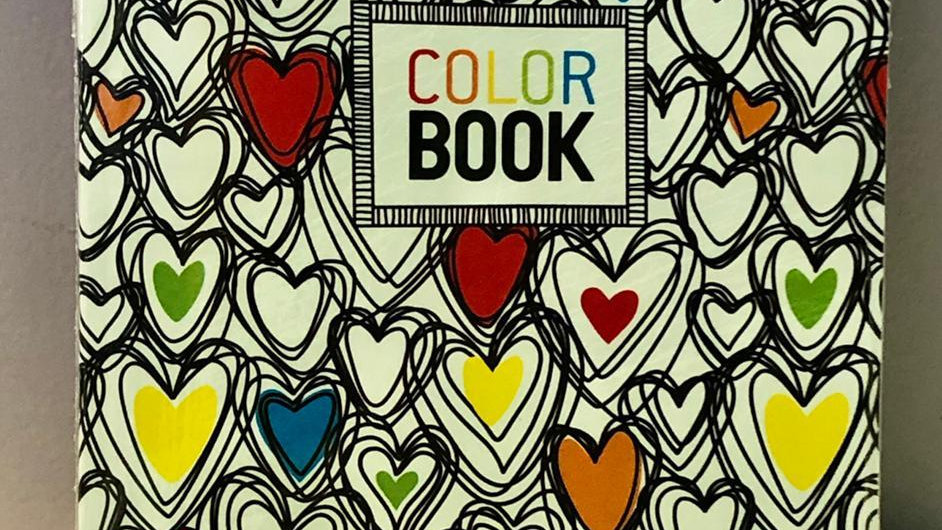Make Notes: Color Books Heart