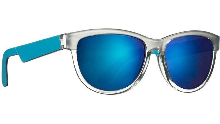 Neon Ice Electric Blue Sunglasses