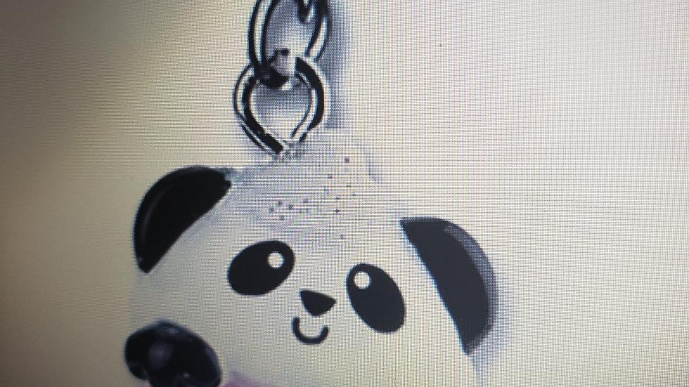 Panda Cupcake Charm