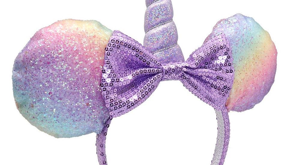 Minnie Unicorn Glitter Headband