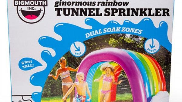 Giant rainbow tunnel sprinkler