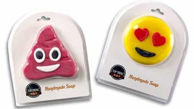 Heart Eyes Emojicon Soap