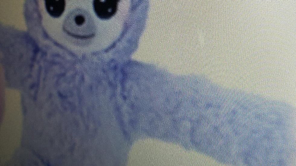 BFF Slap Bracelets Purple Sloth