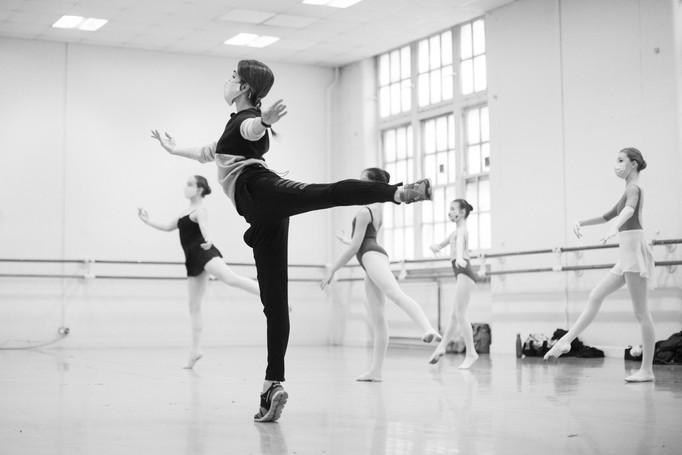 BALLERINA SERIES INTENSIVE/ BALLET ARTS PROJECT WITH YASMINE NAGHDI